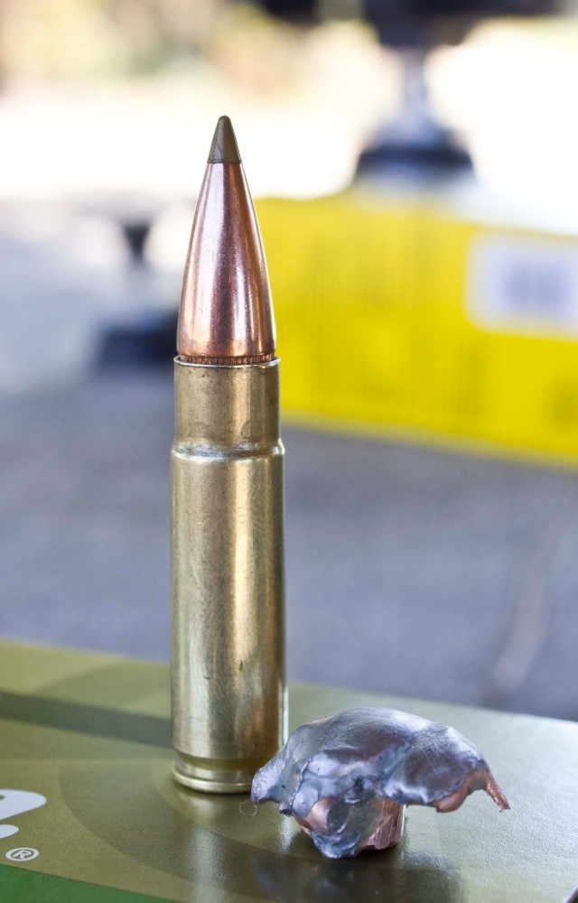 Expanded 125 gr. Remington AccuTip from a .300 Blackout
